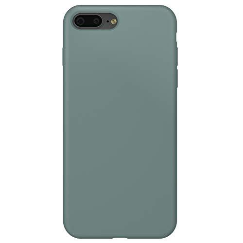 ZhinkArts Silikon Handyhülle kompatibel mit Apple iPhone 7 Plus / 8 Plus - 5,5