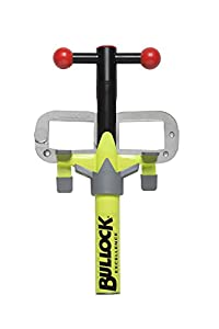 Bullock 146162 X Excellence Bloqueo Pedal DE Freno y Embrague|| inmovilizador de vehículos de Alta Resistencia, amarillo