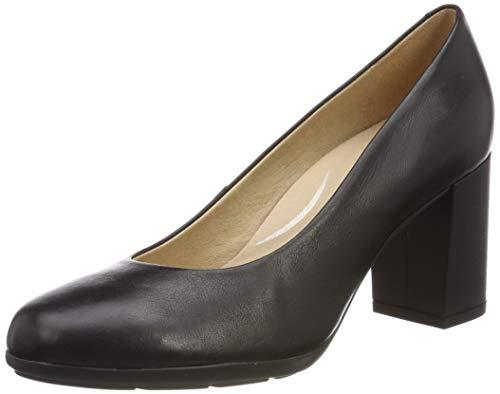 Geox D New Annya A, Scarpe con Tacco Donna, (Black C9999), 40 EU
