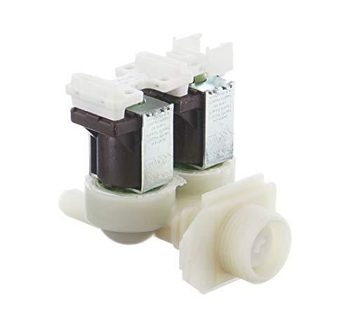 SpareHome® Electroválvula para lavadoras Bosch, Siemens, Balay, Pitsos y Constructa