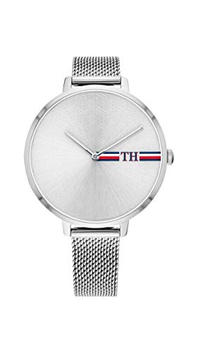 Tommy Hilfiger Reloj Analógico para Mujer de Cuarzo con Correa en Acero Inoxidable 1782157