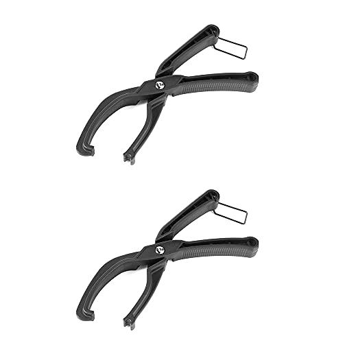 RFVTGB Bike Tire Pliers, Bicycle Tires Removal Clamp, Tyre Remover Holder Pliers Bike Tool, Cycling Accessory for Road Bike Mountain Bike 2 pcs