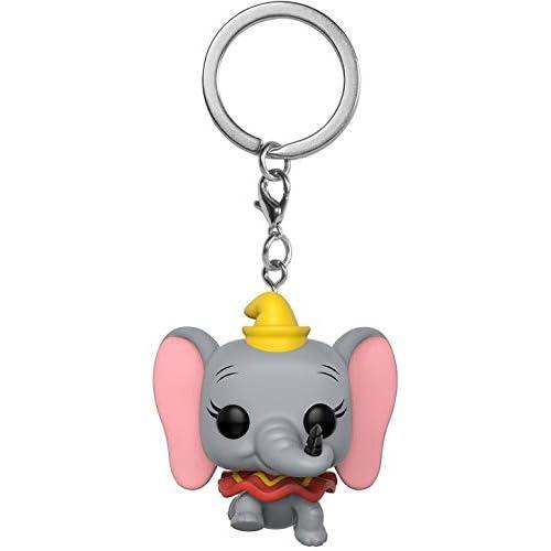 Funko- Disney Dumbo Portachiavi, Multicolore, Standard, 31753