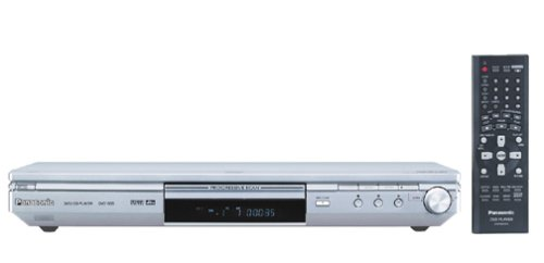 Check Out This Panasonic DVD-S35S Ultra-Slim Progressive-Scan DVD , Silver