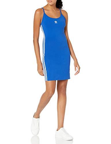 adidas Originals Vestido con correa de espagueti para mujer - Azul - 4X Más