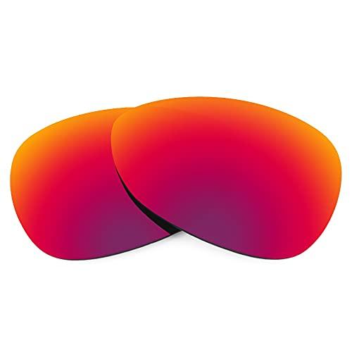 Revant Lentes de Repuesto Compatibles con Gafas de Sol Oakley Warden, No Polarizados, Sol de Medianoche MirrorShield