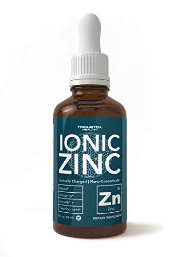 Suplemento de zinc líquido iónico (170 porciones)
