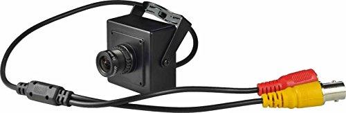 Cámara de seguridad oculta, tamaño pequeño, lente de gran angular, 16 mm, cámara CCTV 1000TVL