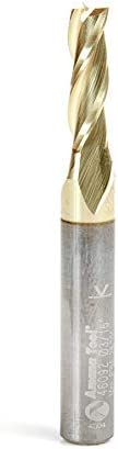 "popular Amana Tool - 46092 Solid discount Carbide high quality Up-Cut Spiral 3/16 Dia x 5/8 x 1/4 Shank x 2-1/2"" Lon online"