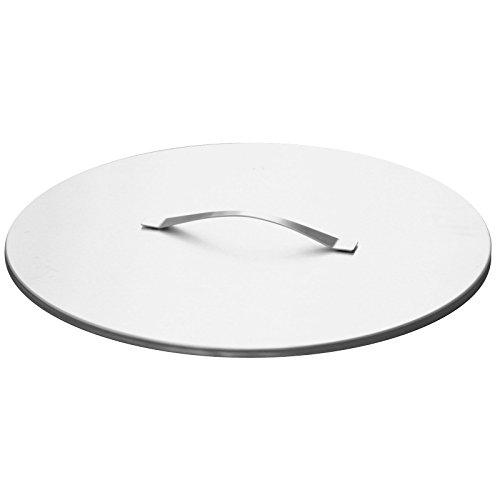 Svenskav Deckel aus Edelstahl für Svenskav Feuerschalen 63 cm für Z/VOMA/ARKA/CUBE/BASIC