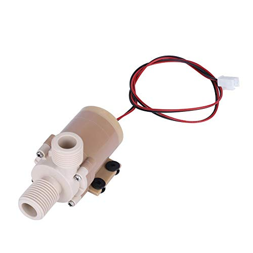 NIMOA circulatiepomp - 12 V DC zonne-energie 100 °C tranquilla warmwatercirculatiepomp motorpomp borstelloze 1/2