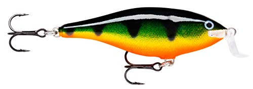 Rapala Super Shad Rap 14 Fishing lure, 5.5-Inch, Perch