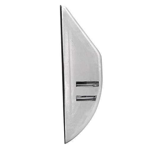 Pelnotac Luz de pared de acero inoxidable, LED de energía solar control de luz de cuerpo humano lámpara de inducción al aire libre impermeable