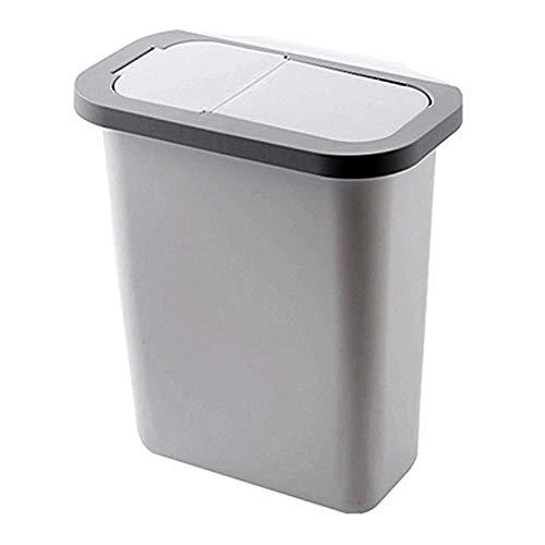 Gather together Armario de cocina A2, puerta, cubo de basura colgante con tapa, papeleras montadas en la pared, contenedor de basura