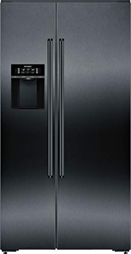 Siemens KA92DHXFP iQ700 - Frigorifero side-by-side, classe A++, 348 kWh/anno, 540 l, compatibile con Home Connect, hyperFresh Plus, noFrost, bigbox, superFreezing