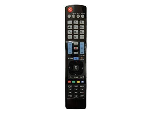 azurano Universal Ersatz-Fernbedienung | Kompatibel mit LG AKB73615303 | TV Projektor HiFi Fernbedienung | 19LV2500, 22LK330, 22LV2500, 26LK330, 26LV2500, 32LK330, 32LK430, 32LK450, 32LK530, 32LM620,