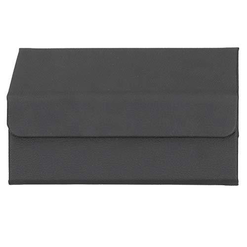 Organizador portátil de gafas de sol organizador de viaje caja de almacenamiento para gafas de almacenamiento almacenamiento almacenamiento caso negro
