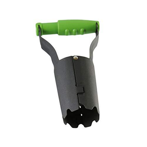 Fgolphd Grüne Gemüsegarten Sämlinge Transplantieren Rohrfamilie Garten Anlage Pflanzmaschine Mobile Pflanzenwerkzeug (Color : Green Black)