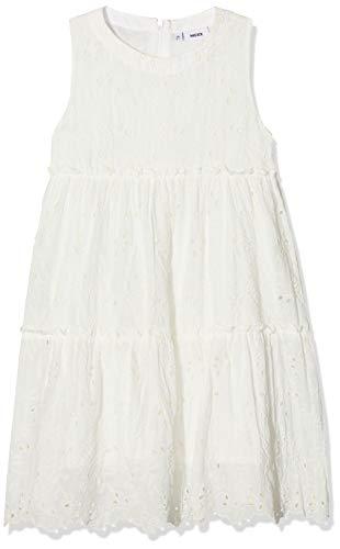 Mexx Mädchen Kleid, Weiß (Marshmallow 114300), (Herstellergröße: 122)
