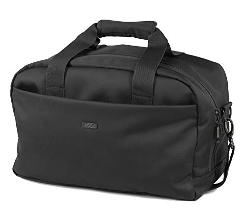 Rock Platinum Carry On Underseat Bag Ryanair Compliant Holdall (40 x 25 x 20cm) Black