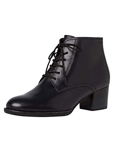Tamaris Damen Stiefeletten, Frauen Ankle Boots, Women Woman Business geschäftsreise geschäftlich büro Stiefel halbstiefel Lady,Navy,38 EU / 5 UK