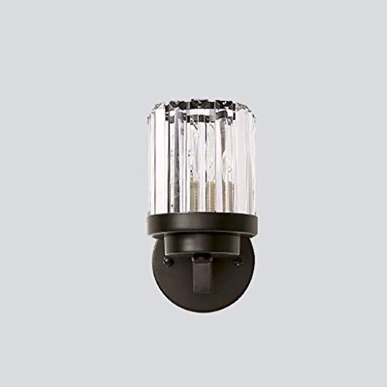 Wandlampe American crystal wandleuchte einzigen kopf einfache wohnzimmer schlafzimmer nachttischlampe wandtreppe gang wandleuchte technik lampen Einstellbare Wandleuchte