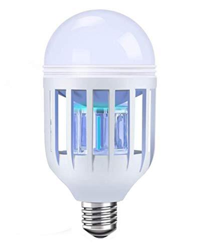 CTKcom Zapper Light Bulb 15W Mosquito Killer LED Bulb Insect Killer 2-in-1 Mosquito Zapper Lamp for Outdoor Indoor Garden Patio Backyard Gym Porch Garage Barn,Good for Women and Baby,E26/E27 110V