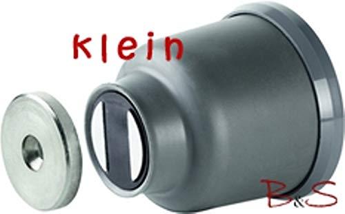 """Preisvergleich Produktbild Arelec Magnet-Türfeststeller Wandmontage""""klein"""" braun"""