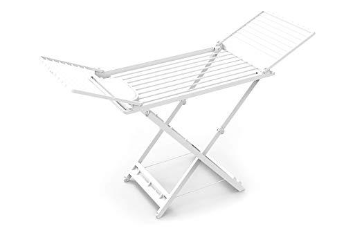 Ergo Clean | Tendedero de Ropa Plegable con Cajón para Pinzas | 100 % Material Reciclado