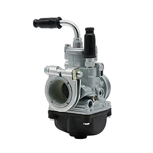 TYTG Carburador CARBURARIO RECHUITO Kit 17mm 19 mm 21mm 2t carburador Negro DIO Jog 50CC 90CC RG50 BWS100 Reemplazo automotriz Carburador Accesorios de Auto (Color : 19.5MM)