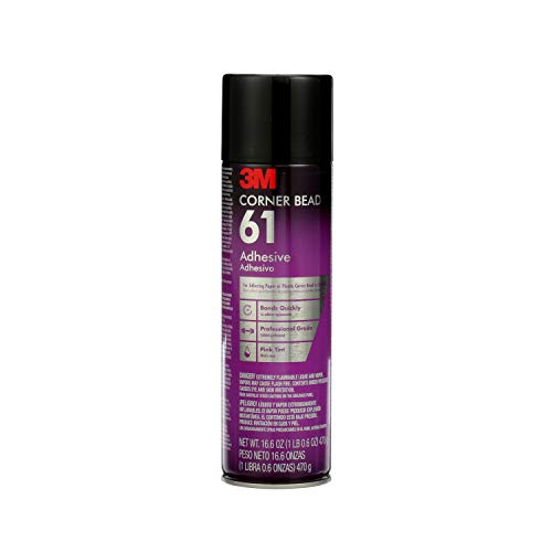 3M Drywall Corner Bead Adhesive, 16.6-Ounce