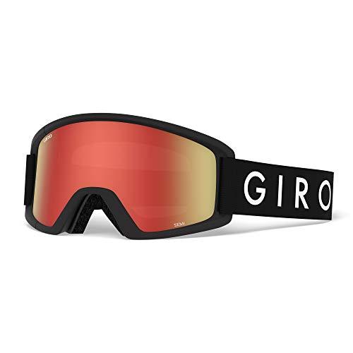 Giro Herren SEMI Skibrille, Black core, One Size
