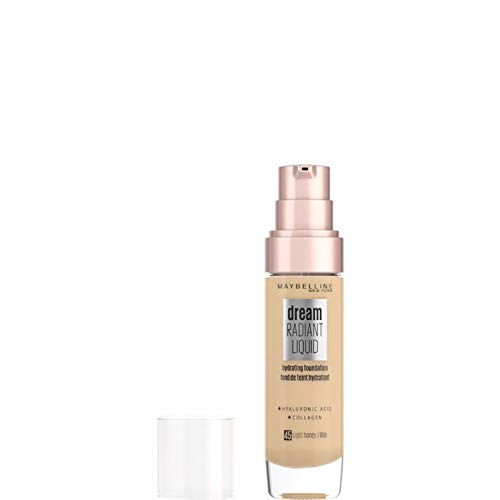 Maybelline Dream Satin Liquid Foundation 30ml - 45 Light Honey