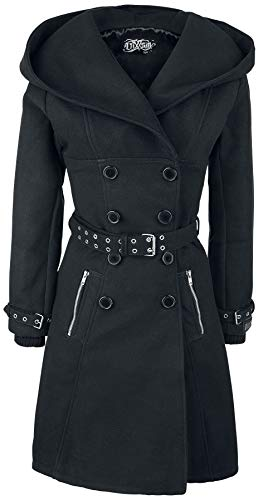 Vixxsin Mantel Decay Coat Schwarz L