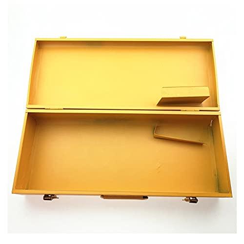 Caja de Herramientas Caja de Herramientas metálicas Caja de Almacenamiento Duradera Ligera con asa para el hogar al Aire Libre Workshop Warehouse Organizador de Hardware Organizador de Herramientas