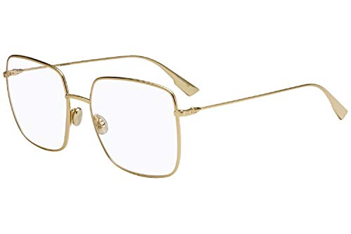 Dior Brille für Vista DIORSTELLAIREO1 J5G/17 gold rahmenmaterial: metall größe 54-mm-brillen-frau