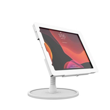 The Joy Factory KAA715W Flexible Arm Counter Stand for iPad Pro 12.9 (2020) White