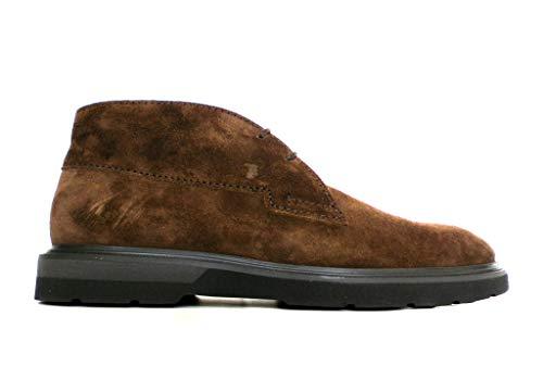 Tod's Zapatos Polaco con fondo de goma bicolor para hombre XXM0ZE0Q720SUWS804 marrón café