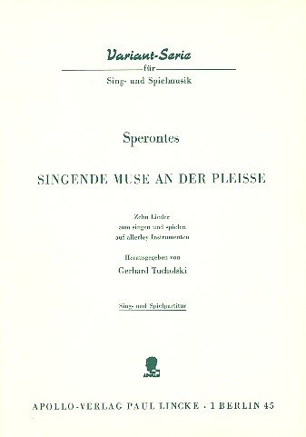 Singende Muse an der Pleisse: 10 Lieder zum Singen und Spielen auf allerlei Instrumenten. Singstimme oder Melodie-Instrument in C; Gitarre (Laute) und ... Sing- und Spielpartitur. (Surfactant Science)