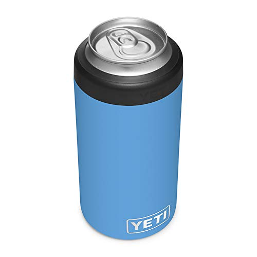 YETI Rambler 16 oz. Colster Tall Can Insulator for Tallboys & 16 oz. Cans, Pacific Blue