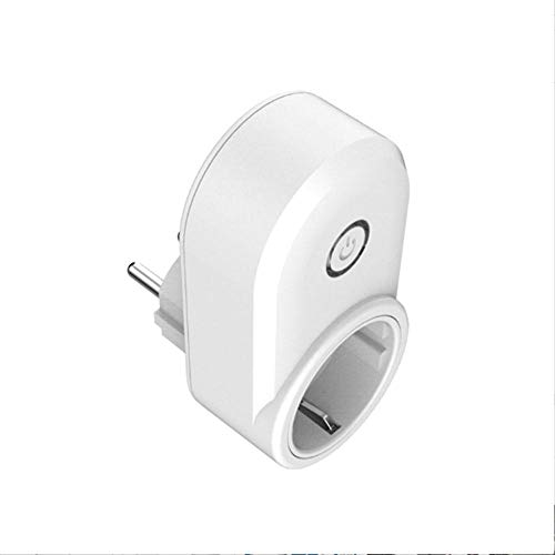 Enchufe Inteligente Smart Plug Smart Socket con Google Home e Amazon Alexa Smart Wifi Socket Plug