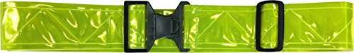 Fire Force Military 3M Hi Visibility Reflective Belt, Durable, Weather Resistant PT Belt Made in USA (Lime-Yellow)