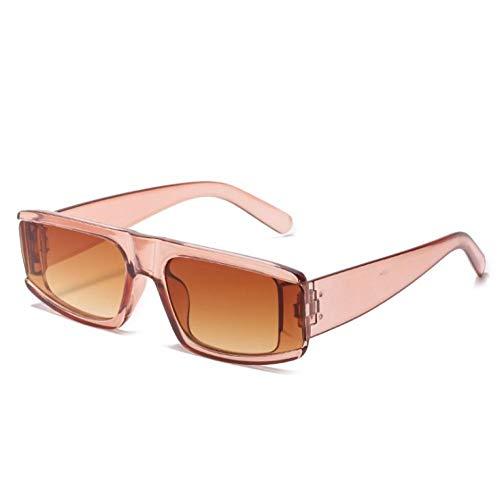 ZZZXX Gafas De Sol Hombre Gafas De Calle Cuadradas Gafas De Piloto Con Estuche Y Paño De Limpieza, Para Ciclismo Pescar Y Conducir