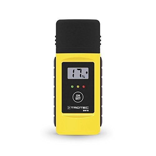 TROTEC BM18 Feuchteindikator Feuchtemessgerät - Zuverlässige Messung von Holz- und Baufeuchte