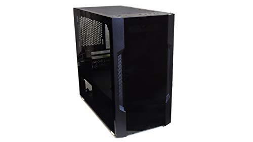 サイズ Scythe M1 ゲーミングMicro-ATXケース 前/側面の2面に強化ガラス採用