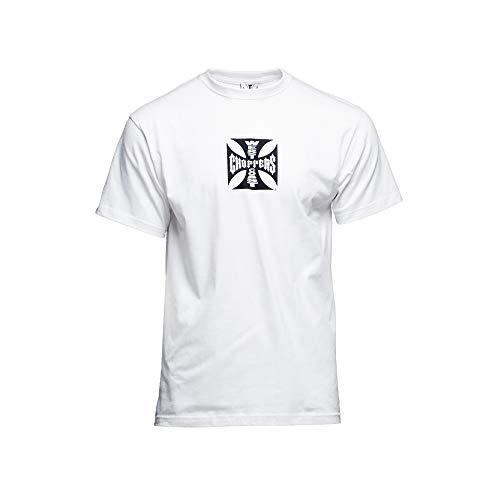 WEST COAST CHOPPERS OG Classic ATX - Camiseta para hombre blanco XL