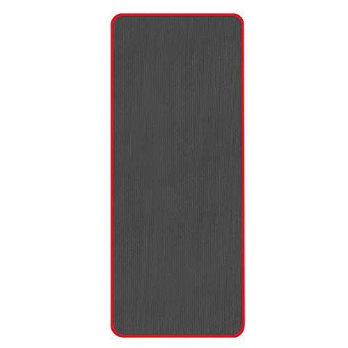 XZANTE Tapis De Yoga Anti-Dérapant Très épais 10 Mm Tapis De Sport De Fitness sans Go?t 183 X 61 Cm Noir