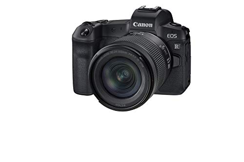Canon EOS R Vollformat Systemkamera - mit Objektiv RF 24-105mm F4-7.1 is STM (30,3 MP, 8,01 cm (3,2 Zoll) Clear View LCD II Display, 4K, DIGIC 8, WLAN, Bluetooth) schwarz