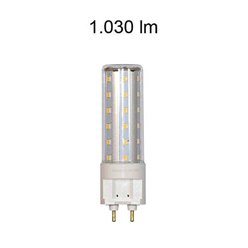 Beneito–HQI G12Tubular 10W 220V 360º LED 4000K