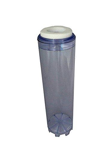 Wasserfilterkartusche, wiedernachfüllbar, für alle 25,4 cm Gehäuse, 25,4 cm, Transparent